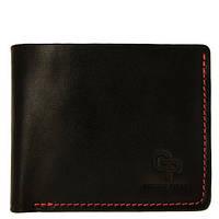 Кожаное черное портмоне унисекс Grande Pelle