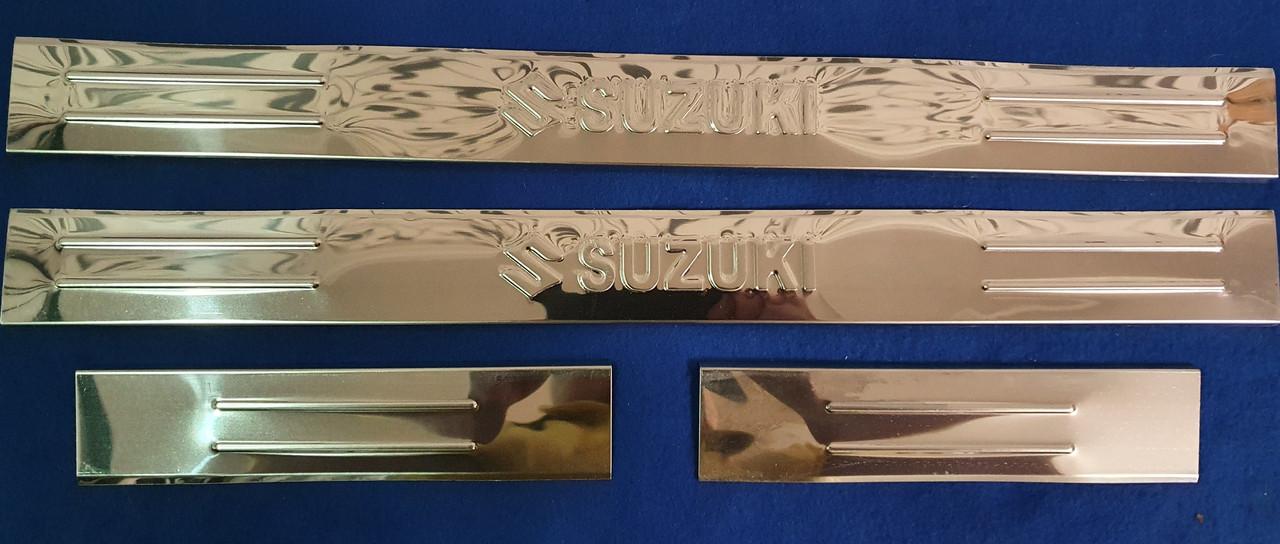 Накланки на пороги suzuki