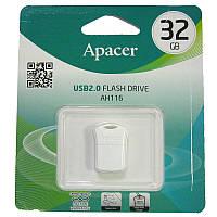 Флешка  32Gb  Apacer AH116 white