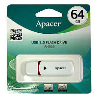 Флешка  64Gb  Apacer AH333 White