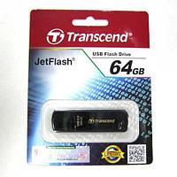Флешка  64Gb Transcend  350 USB2.0 black