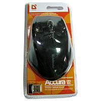 Беспроводная мышка Defender MM-365 Accura, black, USB