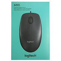 Компьютерная мышка Logitech М90 black, USB