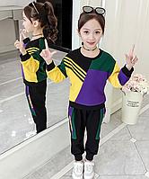 Яскравий спортивний костюм для дівчаток / Модный комплект одежды для девочек; Спортивный костюм для девочек