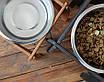 КІТ-ПЕС by smartwood Миска на підставці   Миска-годівниця металева для собак цуценят - 1 миска 2800 мл, фото 6