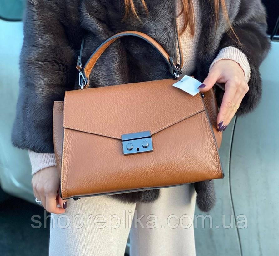 Женская кожаная сумка  Vera Pelle клатч, вера Пелле