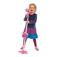 Детский микрофон с разъемом для МР3 плеера, высота 85-115 см, 4+
