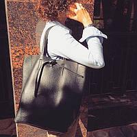 Шоппер сумка женская  натуральная кожа Италия, фото 1