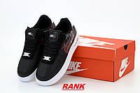 Кроссовки женские Nike Air Force 1 в стиле Найк Аир Форс 1 черные