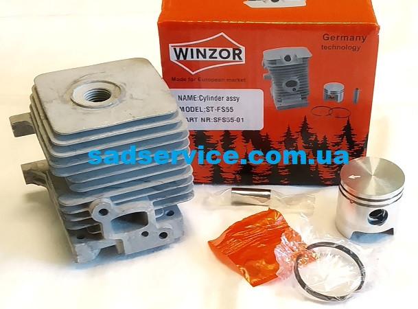 Поршнева Winzor PRO для Stihl FS 55, 45, 38
