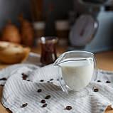 Молочник с двойной стенкой/Молочник с двойным дном/Молочник double wall, 125 мл, фото 6