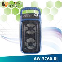 Акустическая портативная система Ailiang AW-3760 с микрофоном