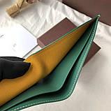 Бумажник Goyard 20936 зеленый, фото 7