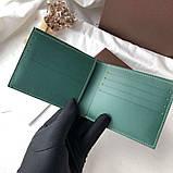 Бумажник Goyard 20936 зеленый, фото 5