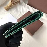 Бумажник Goyard 20936 зеленый, фото 6
