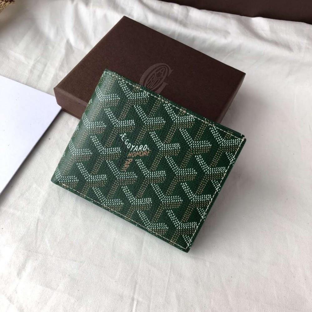 Бумажник Goyard 20936 зеленый