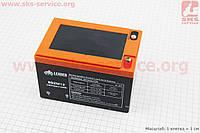 Аккумулятор 6DZM12 - 12V12Ah (L150*W101*H99mm) 2019 (завод OUTDO)