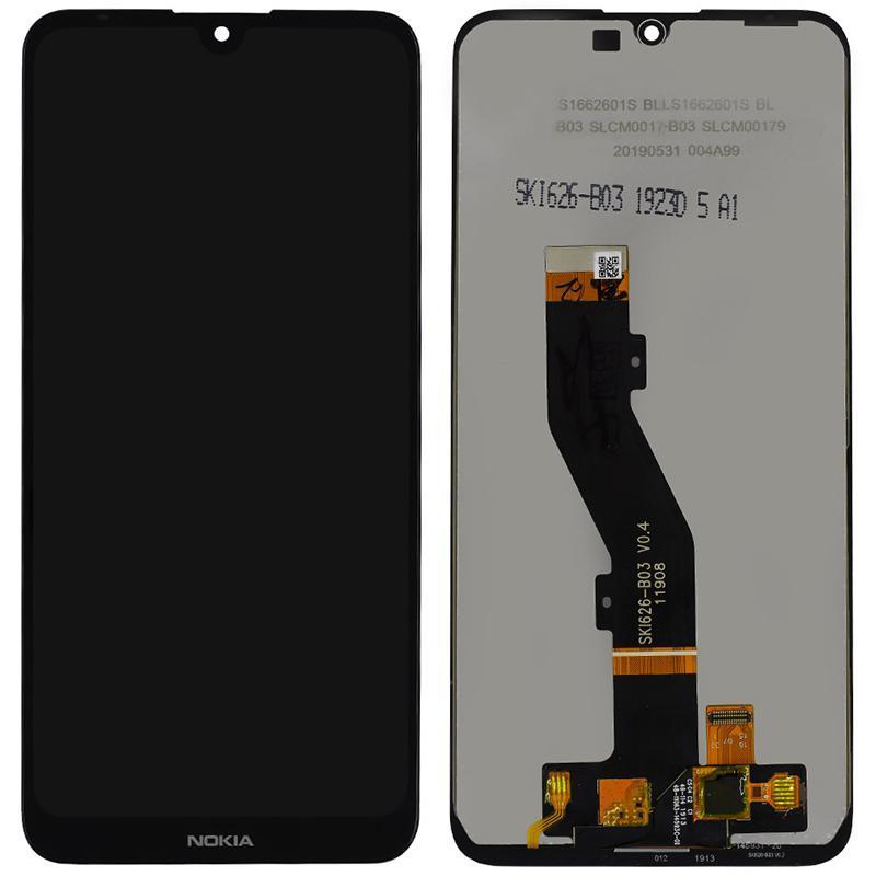 Дисплейный модуль LCD Nokia 3.2  + touch Black Original