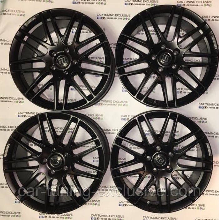 "BRABUS rims Monoblock F ""Liquid Titanium"" R20 for Mercedes A-class W177"
