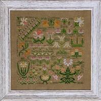 Схема Rosewood Manor Post Card Dreaming of Daffodils S-1087
