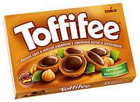 Конфеты Toffifee фудук в карамели с кремовой нугой и шоколадом Германия 100г, фото 1