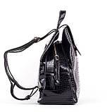 Женский стильный рюкзак  PRIMA K8791-1 BLACK KOGA, фото 3