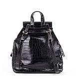 Женский стильный рюкзак  PRIMA K8791-1 BLACK KOGA, фото 2