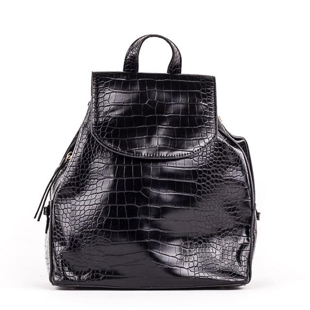 Женский стильный рюкзак  PRIMA K8791-1 BLACK KOGA