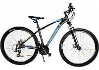 """Велосипед горный Crosser Scorpio*17 29"""" черно-синий алюминиевый, фото 1"""