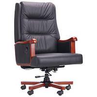Кресло руководителя Benjamin кожа черная