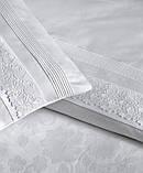 Комплект постельного белья евро Moonlight V.I.P Buhara Beyaz, фото 2