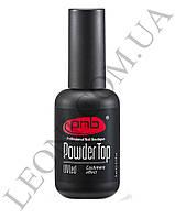 Экстра стойкий Топ с эффектом кашемира PNB UV/LED Powder Top Cashmere effect 8ml