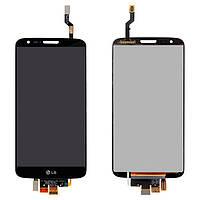 Дисплейный модуль (дисплей + сенсор) для LG Optimus G2 D802 / D805, черный, оригинал