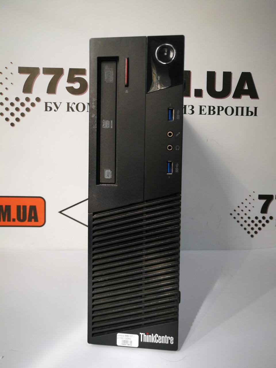 Компьютер Lenovo M83, Intel Сore i5-4570 3.3GHz, RAM 8ГБ, SSD 120ГБ