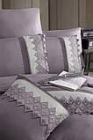Шикарный Комплект постельного белья евро Moonlight V.I.P Vitaly Leylak бренд First Choice, фото 2