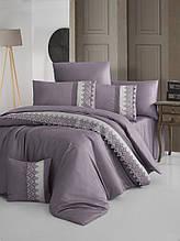 Шикарный Комплект постельного белья евро Moonlight V.I.P Vitaly Leylak бренд First Choice