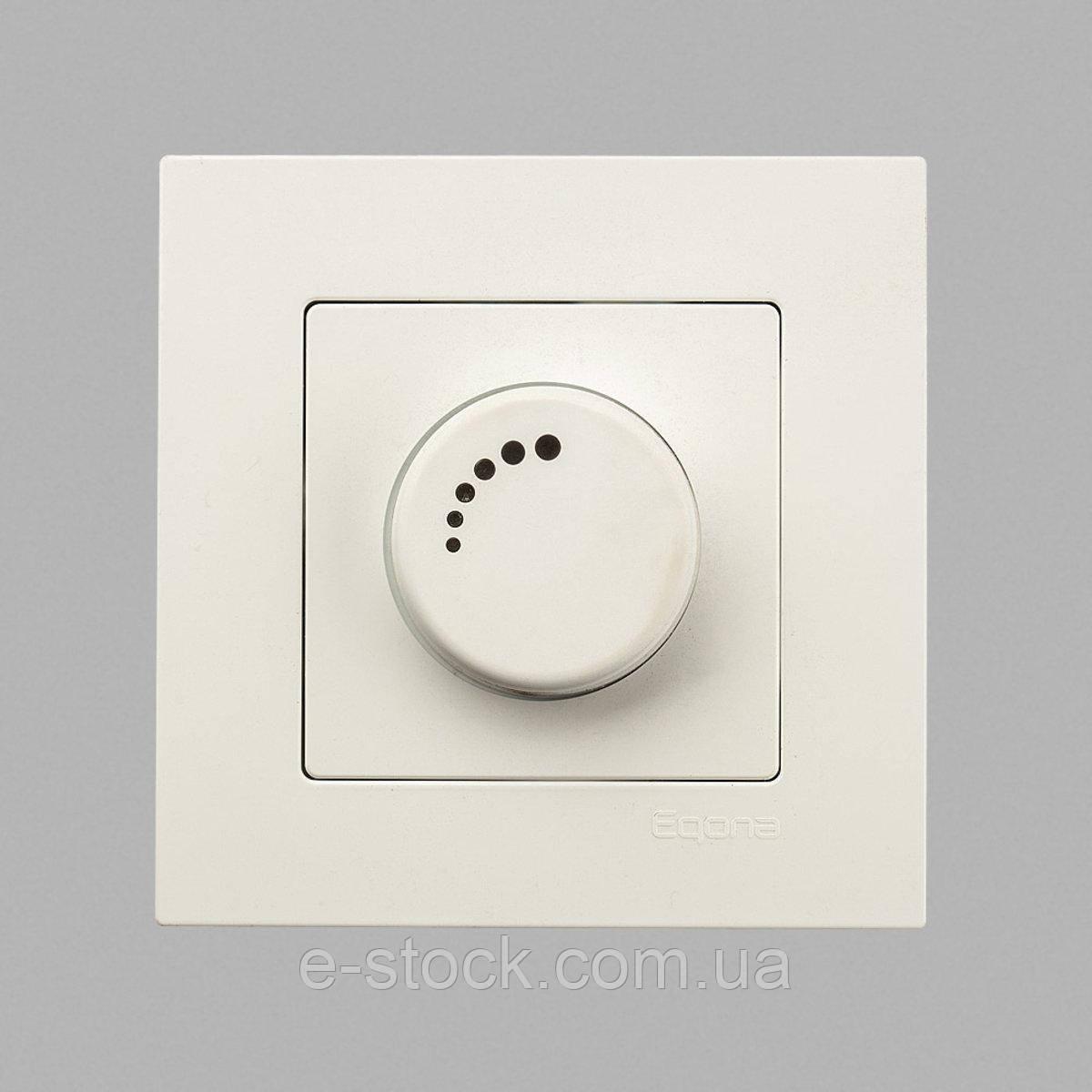 Eqona Светорегулятор 1000Вт с подсв. белый