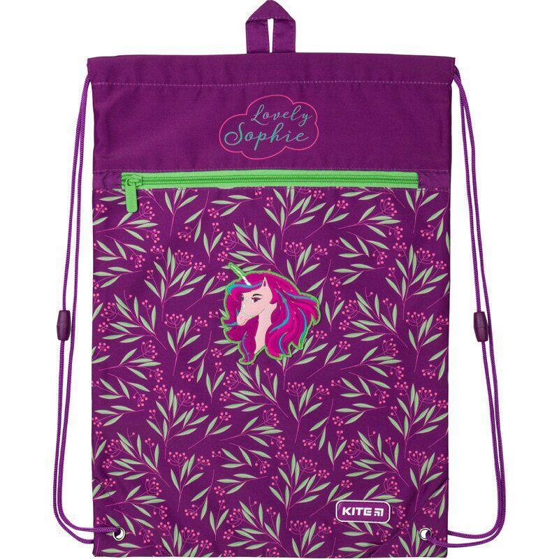 Сумка для обуви с карманом Kite Education Lovely Sophie K20-601M-1