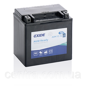 Мото аккумулятор EXIDE AGM12-16
