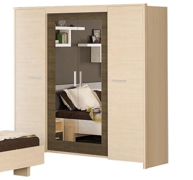 Шкаф Кантри 4Д Мебель-Сервис