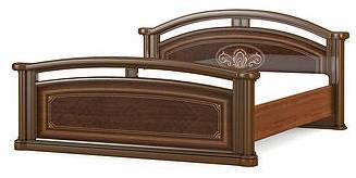 """Кровать двухспальная """"Алабама"""" 1600 Мебель-Сервис"""