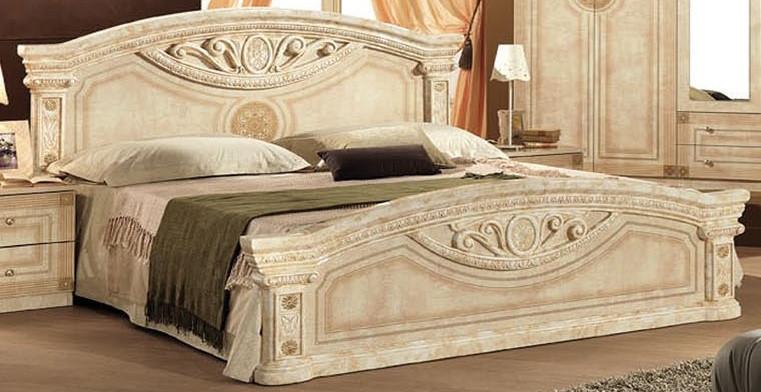 Кровать двухспальная Рома 1600 Мебель-Сервис