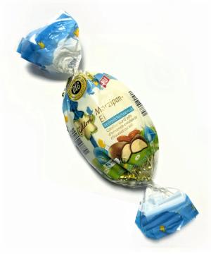 Батончик Marzipan Ei Goldora Volllmilchschokolade 175 g, фото 2
