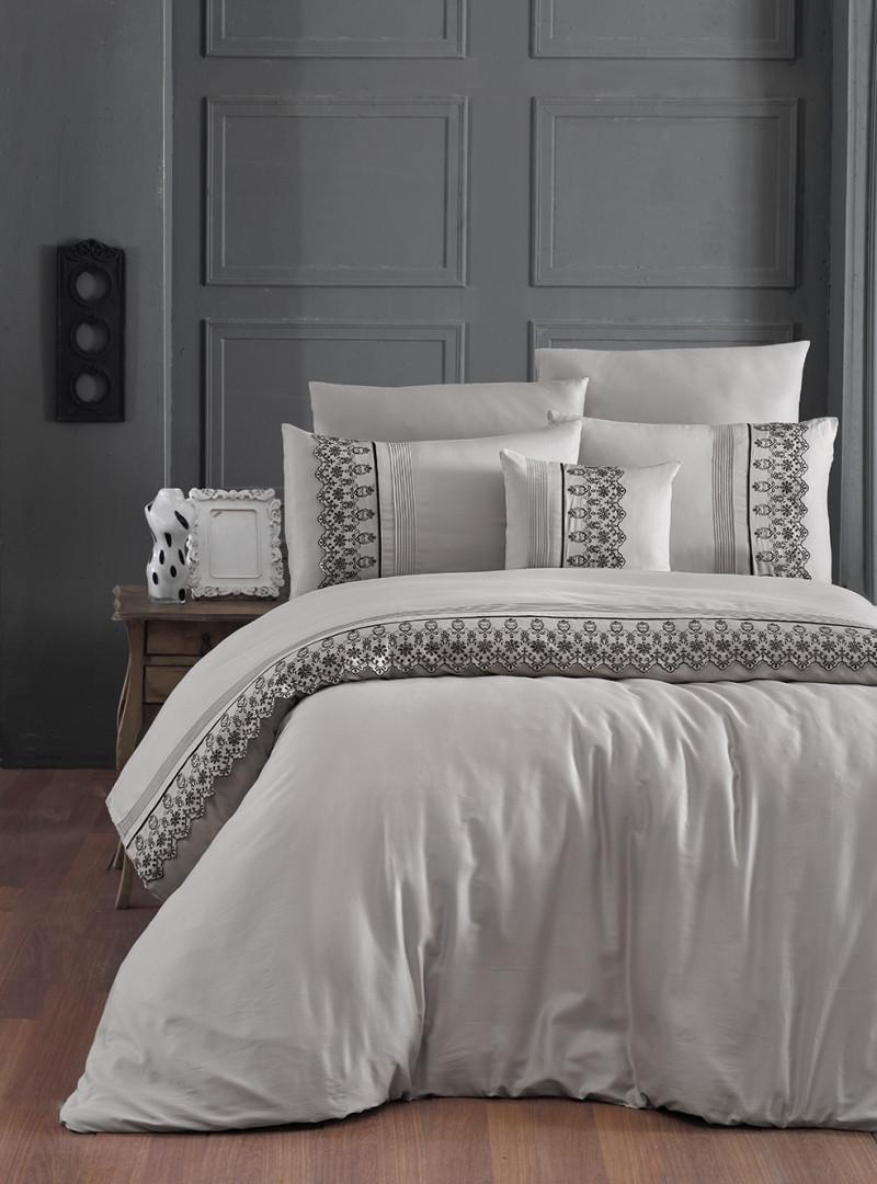 Комплект постельного белья евро Moonlight V.I.P Mona Toprak