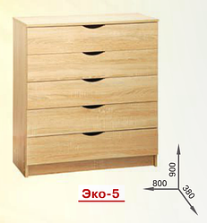 Комод К-5  Эко Пехотин