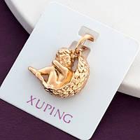 Кулон Xuping Jewelry Ангелочек медицинское золото, позолота 18К А/В 4971