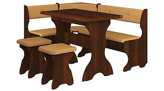 Кухонный уголок Принц с раскладным столом и двумя табуретами