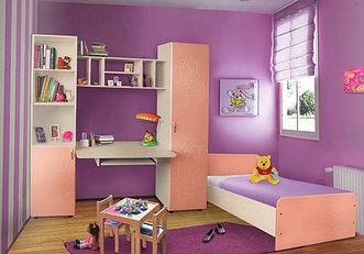 Детская кровать Джери Пехотин