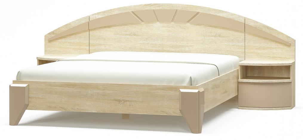 """Кровать двухспальная """"Аляска""""  Мебель-Сервис"""