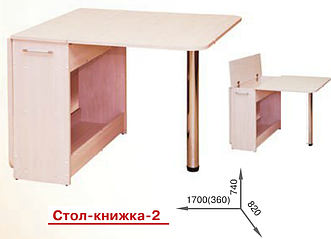 Стол книжка -2 Пехотин